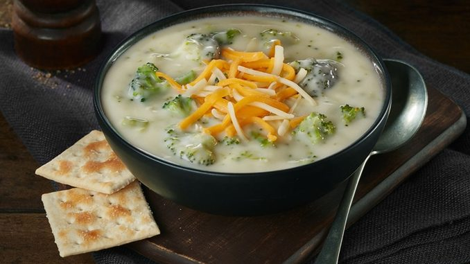 Swiss Chalet Adds New Broccoli Cheddar Soup As Part Of New Winter Warm Up Menu