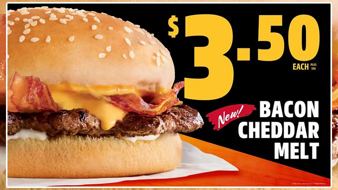 Carl's Jr. Canada Introduces New Bacon Cheddar Melt