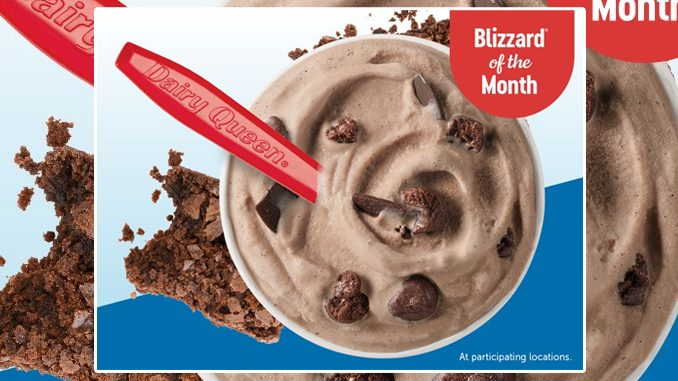 Dairy Queen Canada Brings Back The Brownie Dough Blizzard