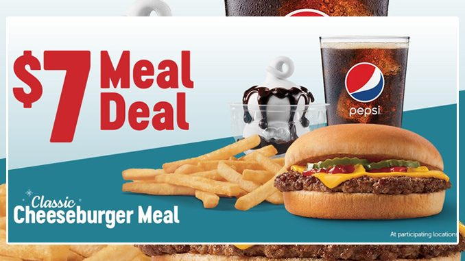 Dairy Queen Canada Offers Classic Cheeseburger $7 Meal Deal