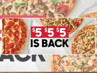 Popular $5 $5 $5 Pizza Offer Is Back At Pizza Hut Canada