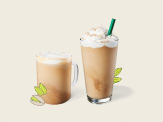 Starbucks Canada Introduces New Pistachio Latte And New Pistachio Frappuccino