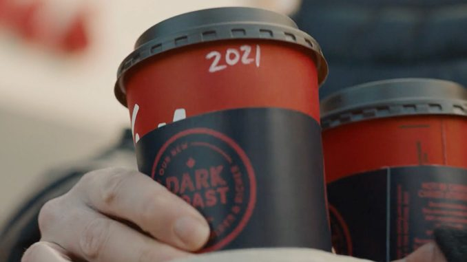 Tim Hortons Pours New Bolder Dark Roast Coffee