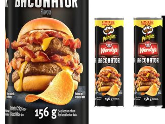 Wendy's Baconator-Flavoured Pringles Available Now At Walmart Canada