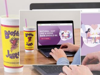 Booster Juice Blends New Perfect Date Smoothie