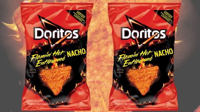 Doritos Flamin' Hot Nacho Tortilla Chips Return To Canada For A Limited Time