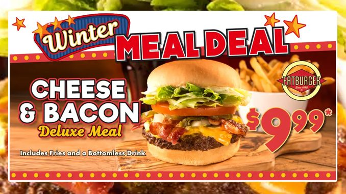 Fatburger Canada Offers $9.99 Winter Meal Deal Through March 31, 2021