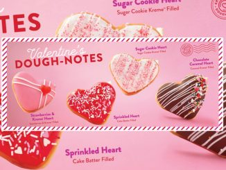 Krispy Kreme Canada Introduces New Heart-Shaped Kreme-Filled Doughnuts For Valentine's Day 2021