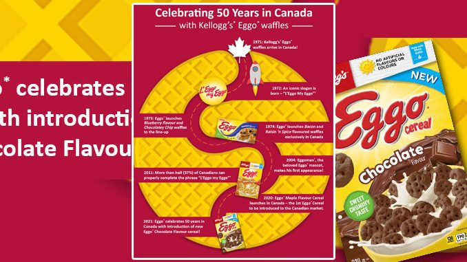 New Eggo Chocolate Flavour Cereal Now Available In Canada