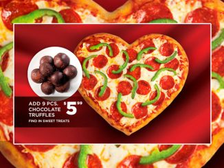 Pizza Pizza Brings Back Heart Pizza For 2021 Valentine's Day Season