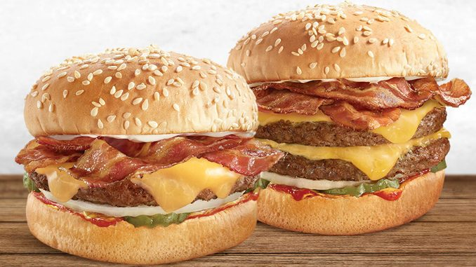 A&W Canada Launches Double Cheese, Double Bacon Mama And Papa Burgers