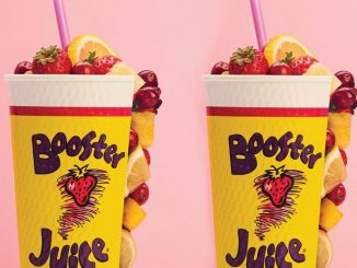 Booster Juice Welcomes Back The LemonBerry Smoothie