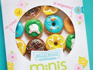 Krispy Kreme Canada Launches New 2021 Spring Minis Lineup