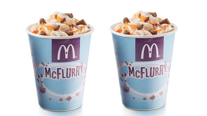 McDonald's Canada Welcomes Back Cadbury Creme Egg McFlurry
