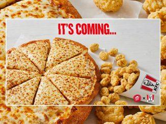 New KFC Popcorn Chicken Pizza Coming To Pizza Hut Canada