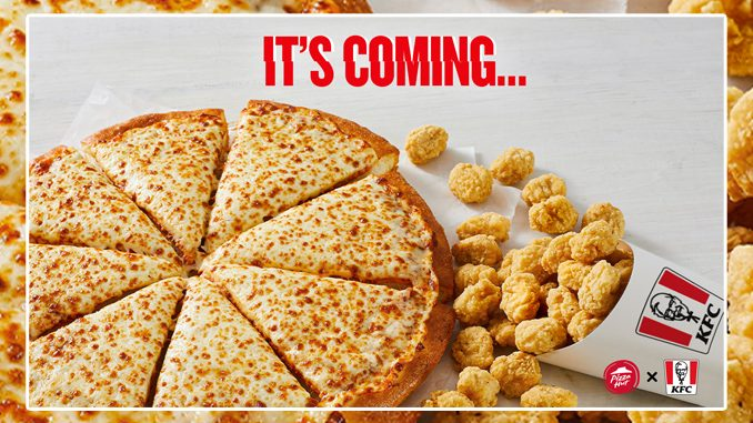 New KFC Popcorn Chicken Pizza Coming To Pizza Hut Canada