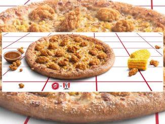 Pizza Hut Canada Debuts New KFC Popcorn Chicken Pizza