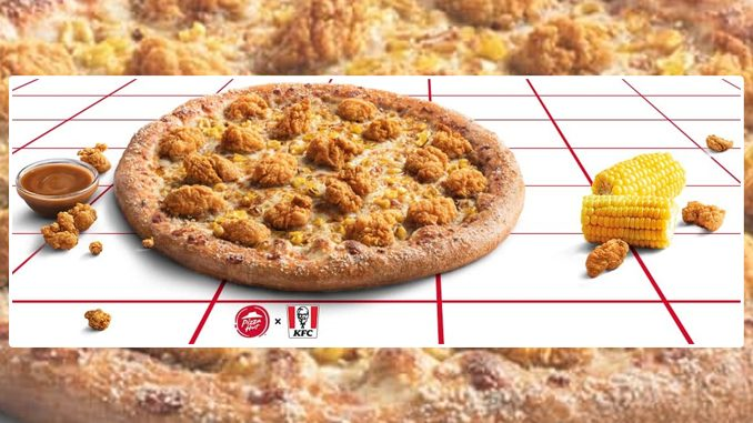 Pizza Hut Canada Debuts New KFC Popcorn Chicken Pizza