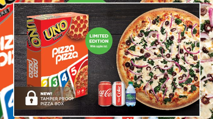 Pizza Pizza Puts Together New Uno Combo Deal