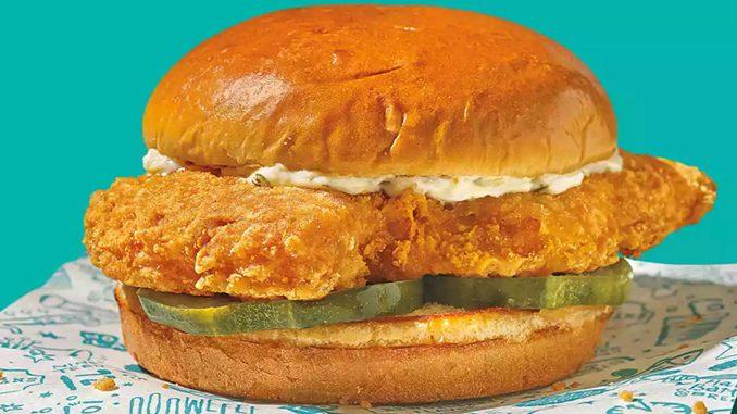 Popeyes Canada Introduces New Cajun Flounder Sandwich