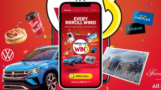 Tim Hortons Reveals 2021 Roll Up To Win Prizes