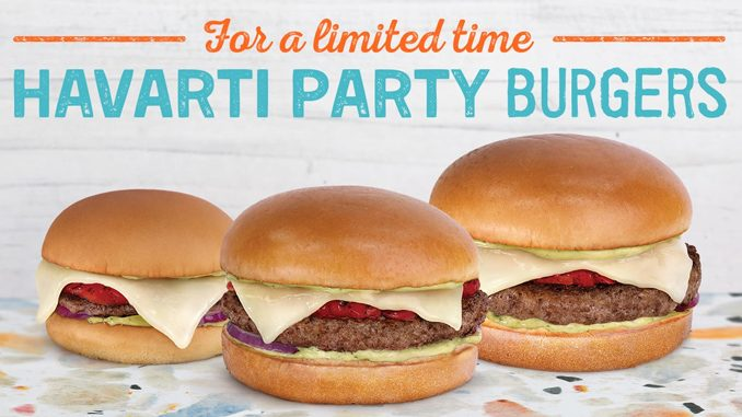 A&W Canada Introduces New Havarti Party Burgers