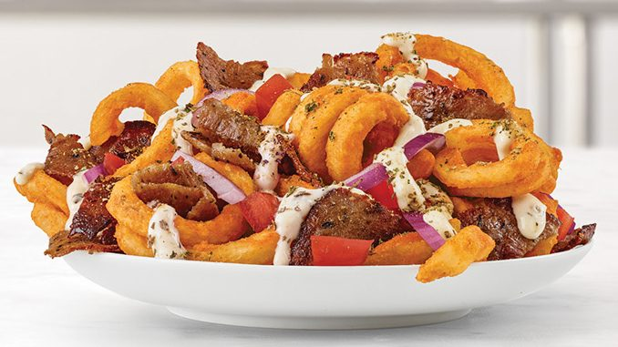 Arby's Canada Brings Back Greek Loaded Curly Fries