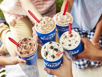 Dairy Queen Canada Reveals New Summer 2021 Blizzard Lineup