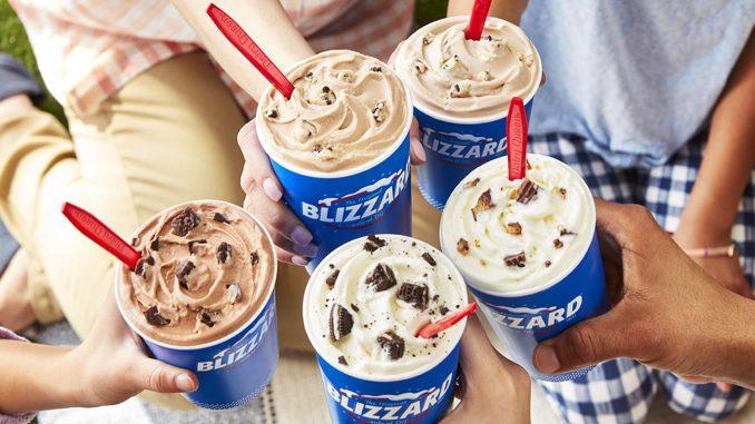Dairy Queen Canada Reveals New Summer 2021 Blizzard Lineup
