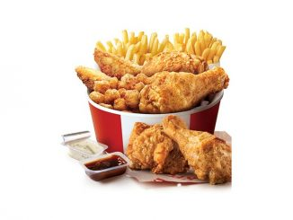KFC Canada Launches $10 Mighty Bucket For 2