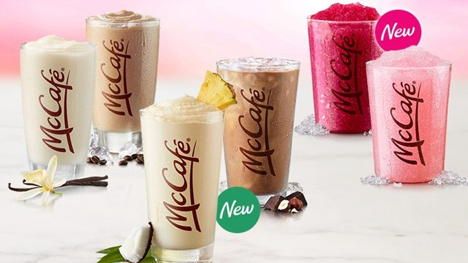 McDonald's Canada Launches New Tropical Coconut Pineapple Real Fruit Smoothie As Part Of 2021 Summer Chill Lineup