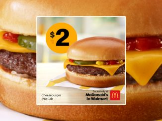 McDonald's Canada Offers $2 Cheeseburger Deal At McDonald's In Walmart Locations