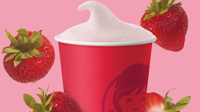 Wendy's Canada Introduces New Strawberry Frosty