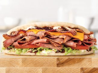Arby's Canada Adds New Brisket Bacon Flatbread Sandwich