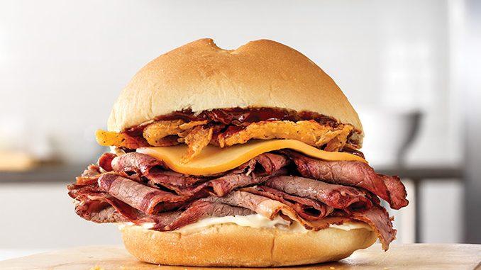 Arby's Canada Brings Back Smokehouse Brisket Sandwich