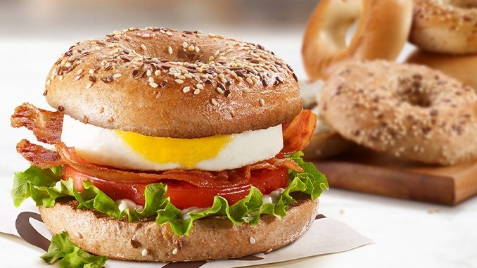 Bagels Are Back At McDonald's Canada On A Permanent Basis