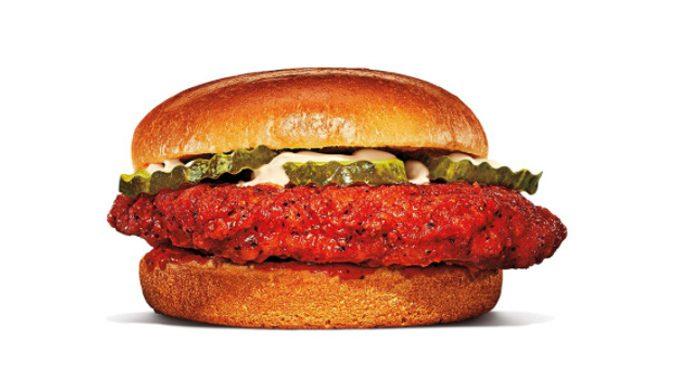 Burger King Canada Adds New Nashville Hot Crispy Chicken Sandwich