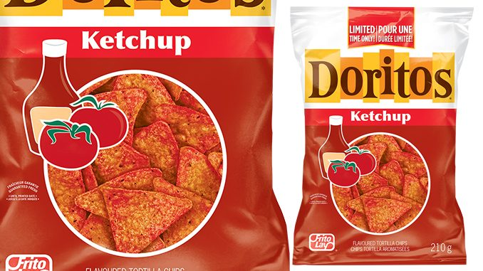 Doritos Canada Welcomes Back Ketchup Flavoured Tortilla Chips For A limited Time