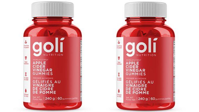 GNC Canada Offers Goli Nutrition Apple Cider Vinegar Gummies