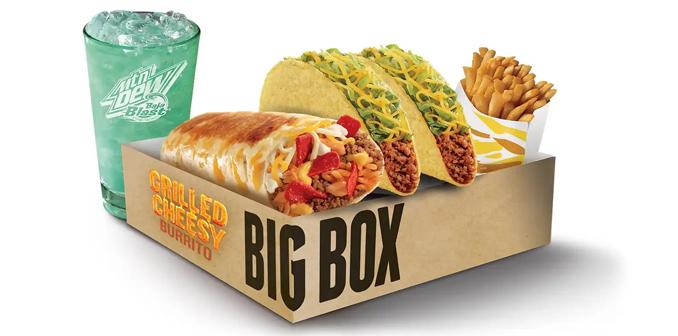 Grilled Cheesy Burrito Big Box