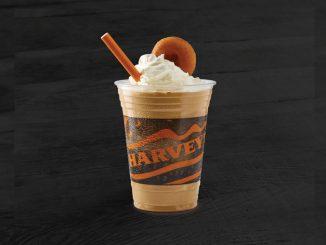 Harvey's Introduces New Coffee & Donut Shake