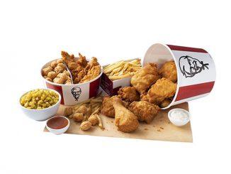 KFC Canada Adds New Double Bucket