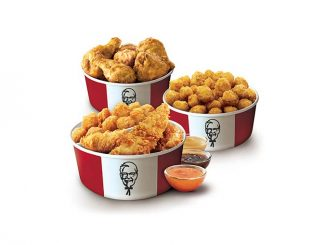 KFC Canada Puts Together New $30 Triple Bucket Deal For Mother's Day 2021