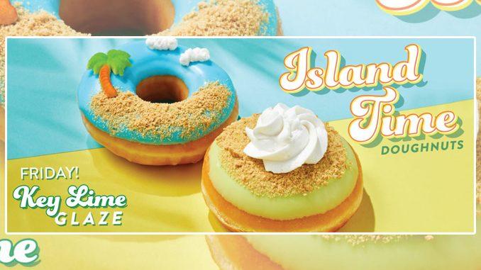 Krispy Kreme Canada Introduces New Key Lime Pie And Island Time Doughnuts