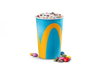 McDonald's Canada Welcomes Back The Smarties McFlurry