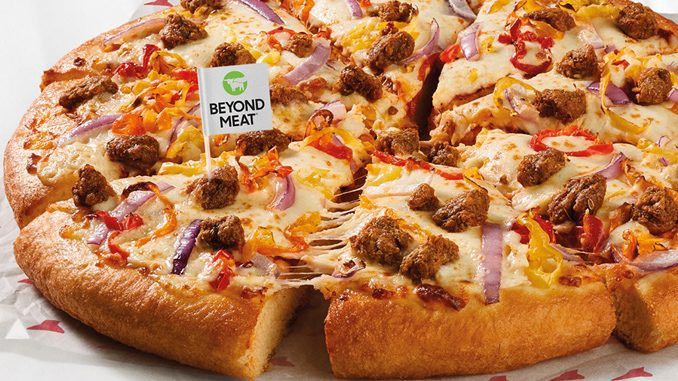 Pizza Hut Canada Is Testing Plant-Based Beyond Meat Menu Items At Select Locations In Toronto And Edmonton