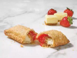 Popeyes Canada Adds New Strawberry Cream Cheese Fried Pie