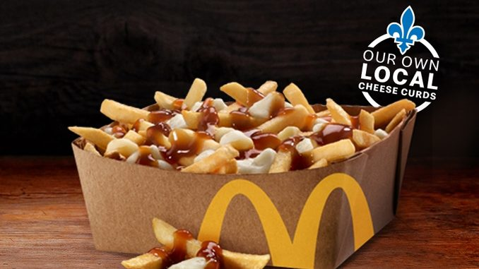 Poutine Now Available In New Large Size At McDonald's Canada