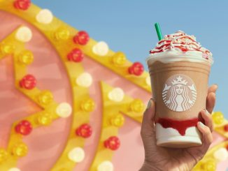 Starbucks Canada Adds New Strawberry Funnel Cake Frappuccino And New Cookie Dough Cake Pop