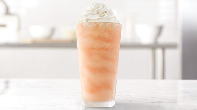 The Orange Cream Shake Is Back At Arby's Canada For A Limited Time